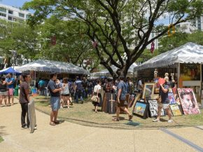 Art in the Park 2018 at Salcedo Village, Makati: An Affordable Art Fair