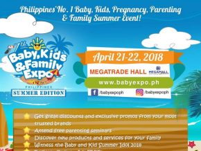 7th Baby, Kids & Family Expo Summer Edition on April 21