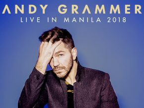 Andy Grammer holds Special Concert in Manila