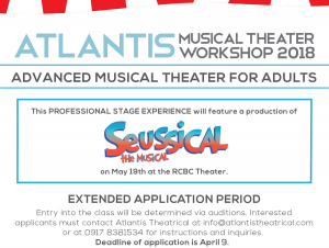 Atlantis Advanced Musical Theater for Adults