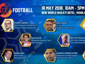 'The Business of Football' set for May 18 at New World Makati