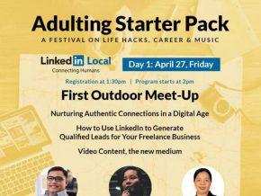 Adulting Starter Pack Festival in Bonifacio High Street