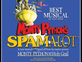 Upstart Productions presents Monty Python's SPAMALOT 2018