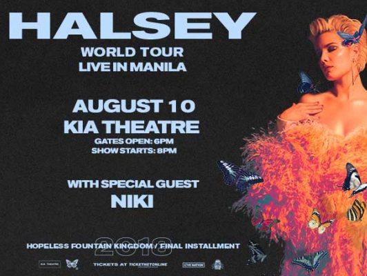 Halsey World Tour Live in Manila @ Smart Araneta Coliseum | Quezon City | Metro Manila | Philippines