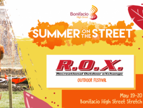 R.O.X. Outdoor Festival 2018 in Bonifacio High Street
