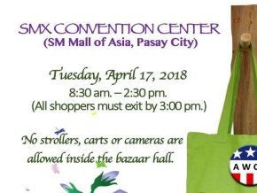 AWCP Bazaar on April 17