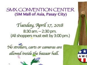 AWCP's Bazaar @ SMX Convention Center | Pasay | Metro Manila | Philippines