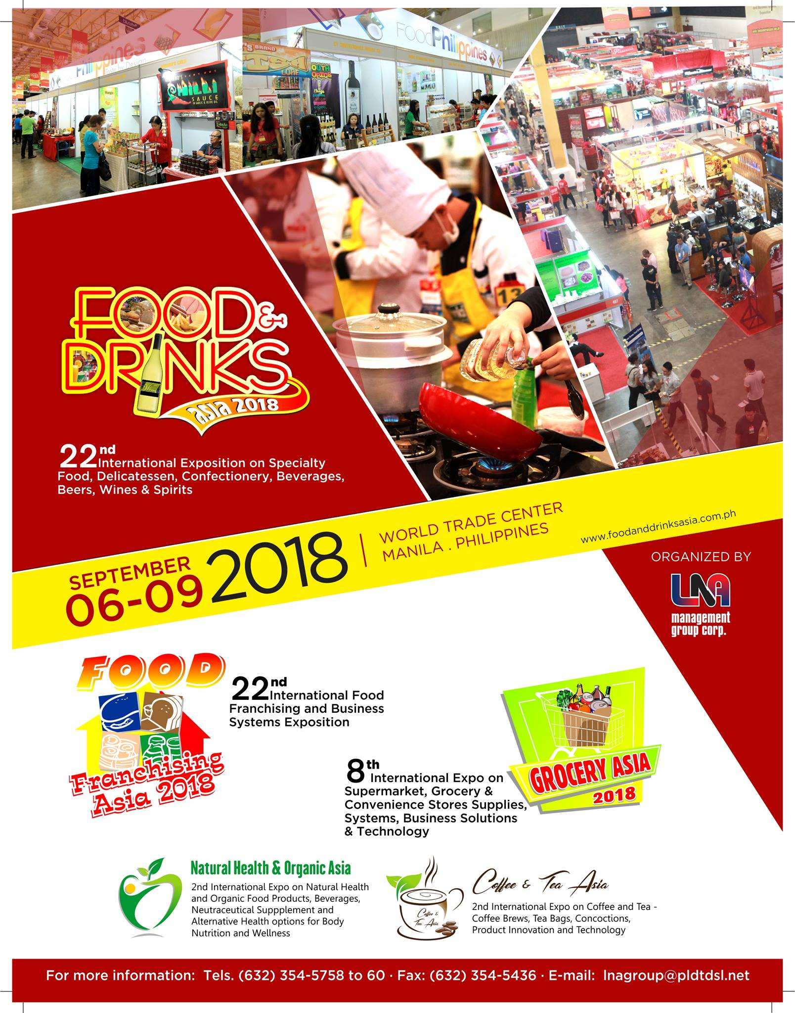 Food and drinks asia 2018 philippine primer rejoice as food and drinks asia rolls off the red carpet for their biggest event of the year this september 6 to 9 at the world trade center manila gumiabroncs Image collections