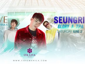 Seungri at the Cove Manila