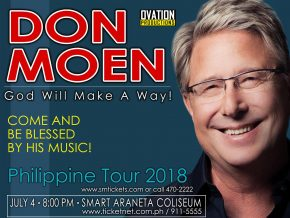 Gospel artist Don Moen to grace PH in July