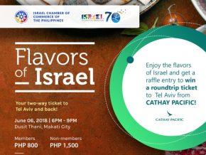 Flavors of Israel: Networking Night and Induction