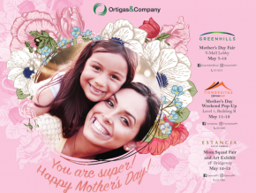 Countless Treats this Mother's Day at Ortigas Malls