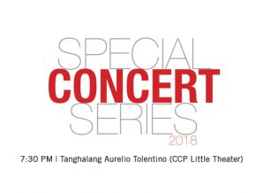 World-class performances abound at CCP's Special Concert Series 2018