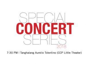 @ Tanghalang Aurelio Tolentino (CCP Little Theater)  | Pasay | Metro Manila | Philippines