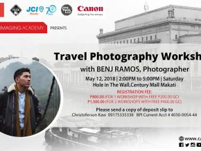 Travel Photography Workshop with Benj Ramos