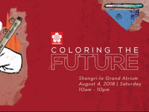 Coloring the Future by Sakura Philippines at Shangri-la Grand Atrium