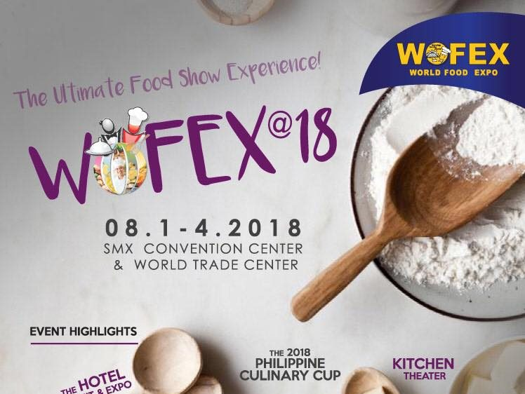 WOFEX: World Food Expo Manila 2018 @ SMX Convention Center and World Trade Center | Pasay | Metro Manila | Philippines