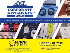 Corporate Giveaways Now On Its 31st Year As The Philippines' #1 Business Gifts Expo
