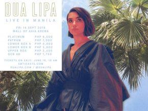 Dua Lipa Live in Manila 2018