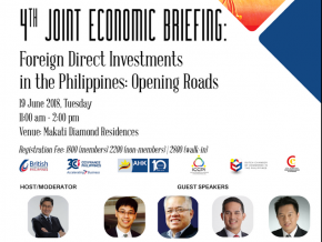 4th Joint Economic Briefing in Makati