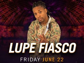 Lupe Fiasco at Cove Manila this June