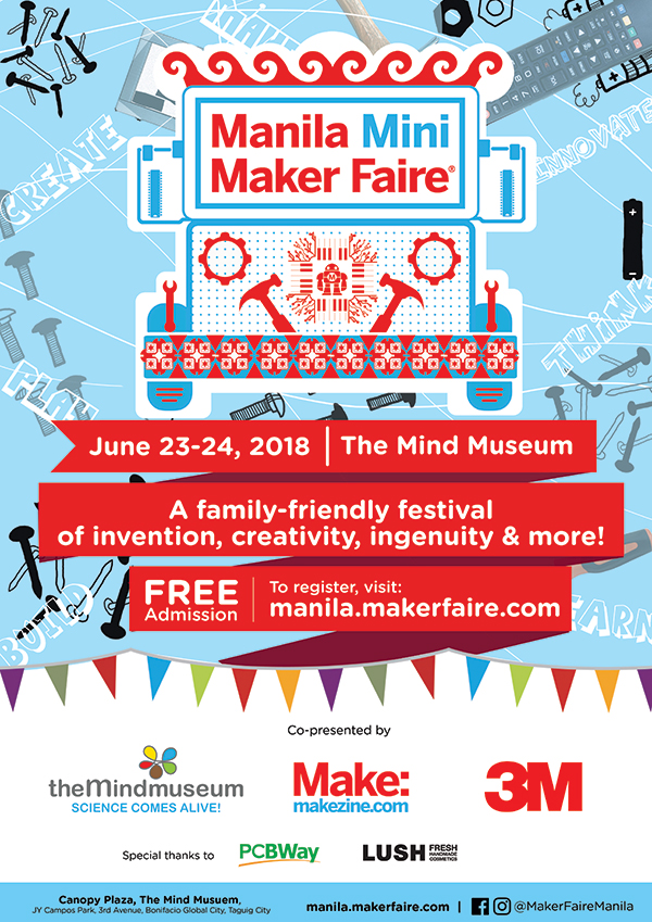 Manila Maker Faire 2018: Discover the Art and Science behind