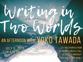 Bilingual Author Yoko Tawada in Manila for Literary Event