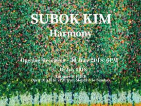 Harmony by Su Bok Kim: A Pointillism View of Nature