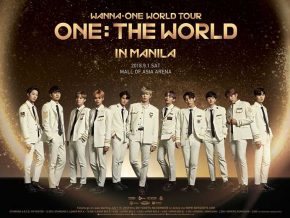 Wanna One World Tour in Manila 2018