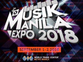 Musik Manila Expo 2018 at the World Trade Expo