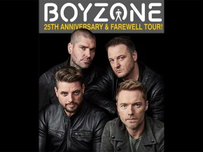 Boyzone Goes to Manila for Farewell Tour