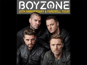 Boyzone 25th Anniversary and Farewell Tour @ Mall of Asia Arena | Pasay | Metro Manila | Philippines