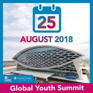 Global Youth Summit 2018: Get Engaged and Be Inspired! @  SM Mall of Asia Arena | Pasay | Metro Manila | Philippines