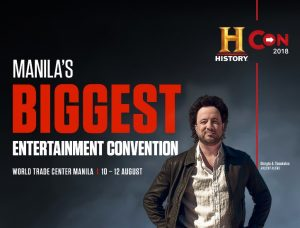 HISTORY CON 2018: Manila's Biggest Entertainment Convention @ World Trade Center | Philippines