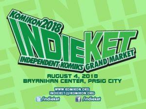 Indieket 2018: Independent Komiks Market @ Bayanihan Center, Pasig City   Pasig   Metro Manila   Philippines