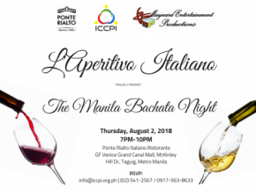 L'Aperitivo Italiano: The Manila Bachata Night