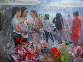 Hybrid Interplay: Realistic Impressionism by Ricky Montilla