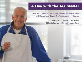 The Coffee Bean & Tea Leaf: A Day with the Tea Master