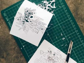 Learn the Art of Papercutting at Papercut Art!