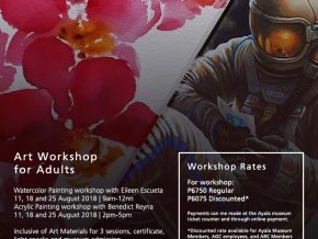 Art Room at Ayala Museum Opens Workshop for Adults this August