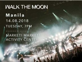 Walk The Moon Returns to Manila in August 2018