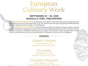 European Culinary Week 2018: A Gastronomical Discovery in PH
