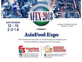 Asia Food Expo at the World Trade Center This September 12 to 15