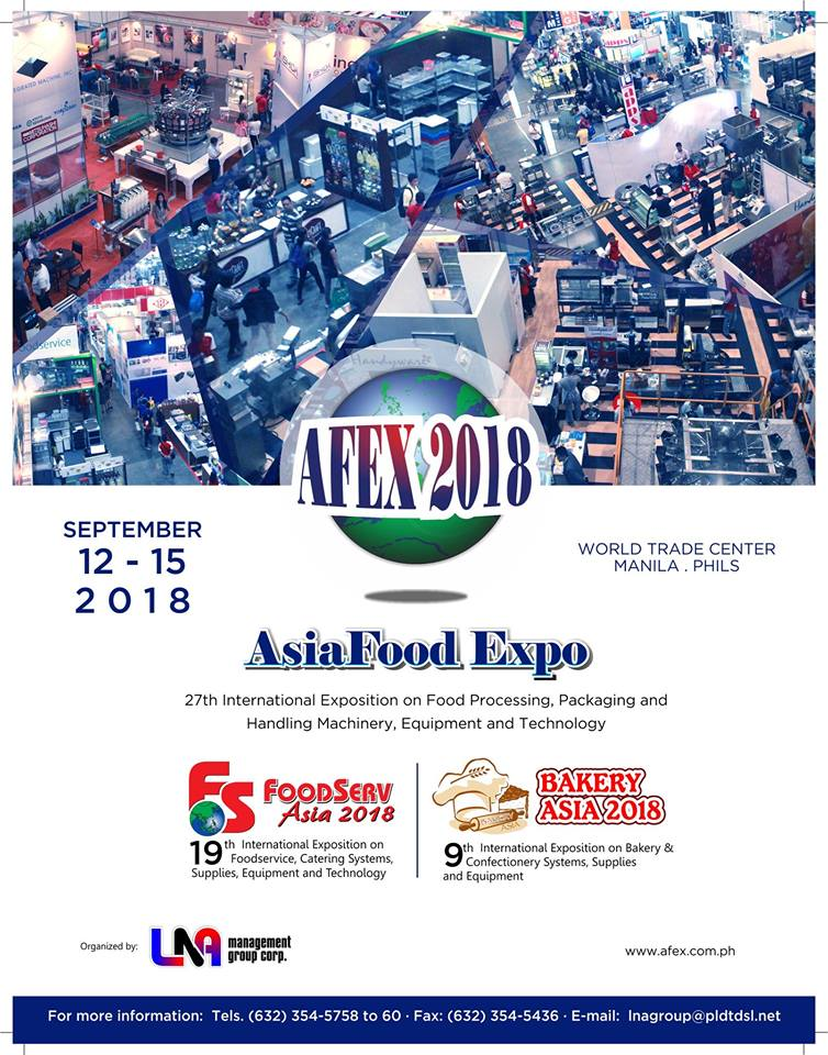 Asia Food Expo at the World Trade Center This September 12