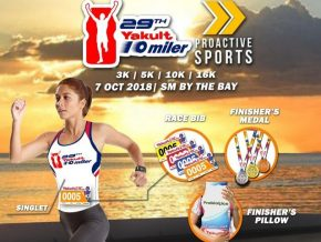 The 29th Yakult 10-Miler Run is Happening This October 2018