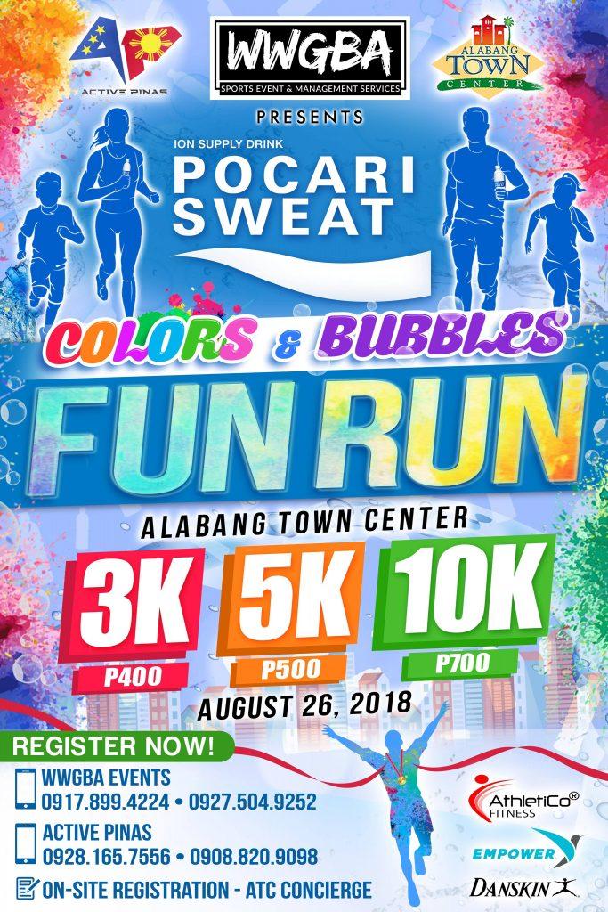 Pocari Sweat Colors And Bubbles Fun Run Philippine Primer