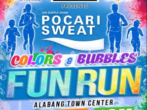 Pocari Sweat Colors and Bubbles Fun Run in Alabang