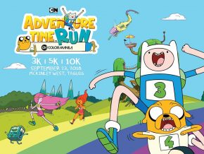 Color Manila Adventure Time Run This September 23