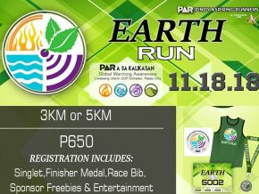 Takbo Para sa Kalikasan2018: Earth Run Edition