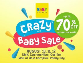 Crazy Baby Sale Goes to SMX Mall of Asia This August